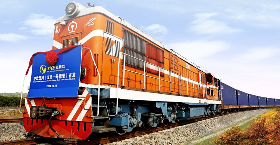 China Rail Freight Services - Yiwu to Europe and London